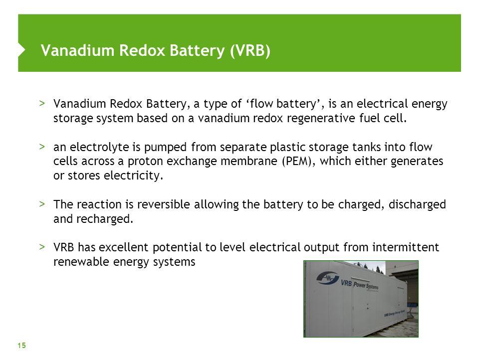 vanadium boryd electrolyte