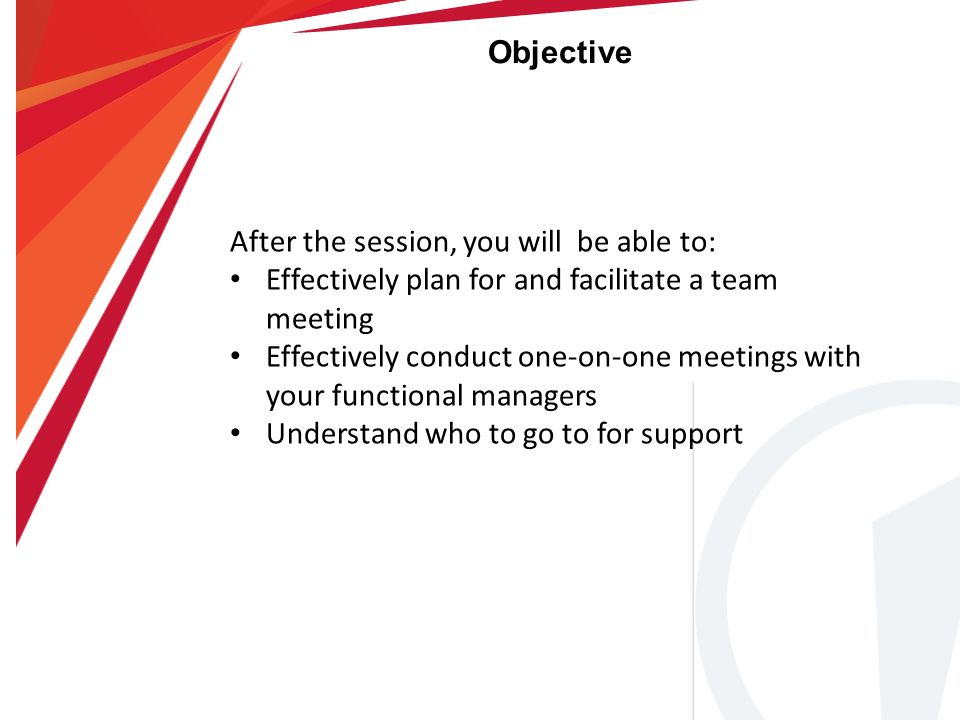 The Edge Fitness Clubs Running An Effective Meeting  Ppt Download
