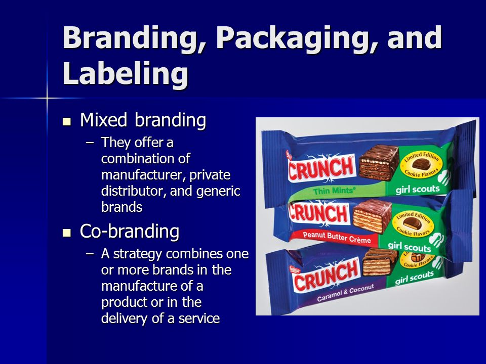 mixed branding