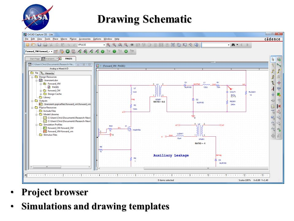 PSPICE Circuit Simulation Overview: Part 2 Using the Schematic Entry ...