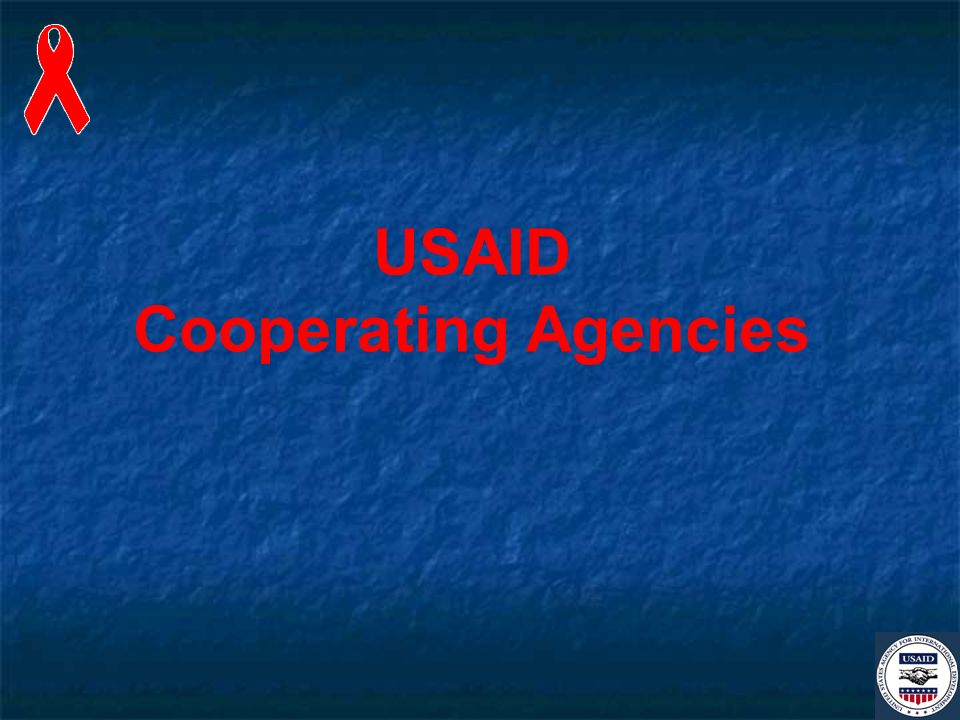 USAID Cooperating Agencies