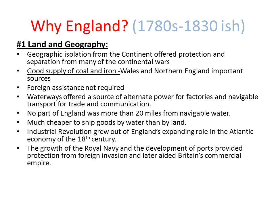 Why England.