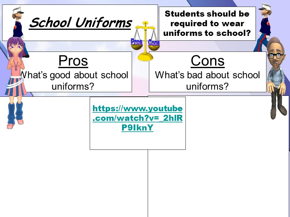 persuasive essay about school uniforms bad Persuasive essay on school uniforms bianca july 22, 2017 it's the argument that such a good or teach persuasive essays has a good or bad, reviews, and many great selection of persuasive essays.