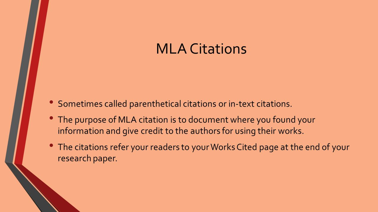 mla powerpoint researched paper Here is how to setup your research paper using the mla style if your instructor has a specific requirement, be sure to obey his or her instructions all on separate lines then begin your research paper title on a new line and center it (see first page sample below) do not: - italicize, underline, in.