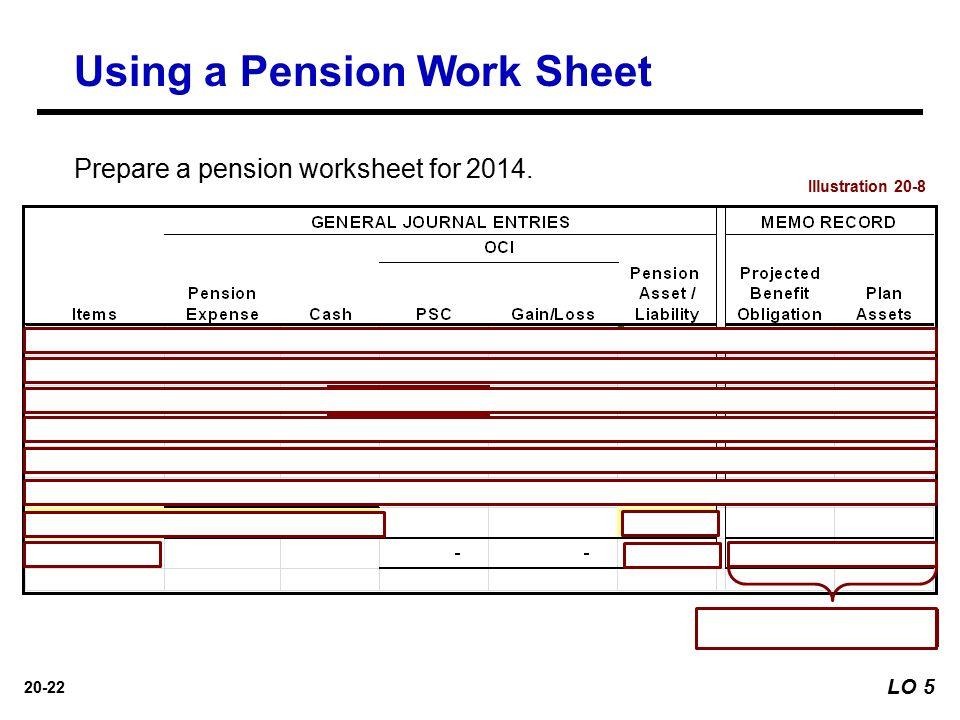 201 Prepared by Coby Harmon University of California Santa – Pension Worksheet