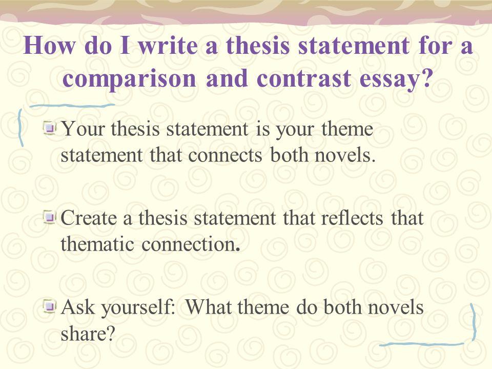 How do I write a
