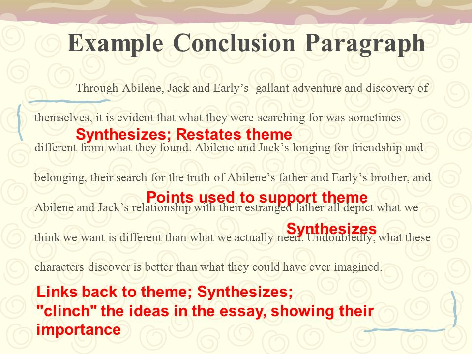 writing the comparison and contrast essay moon over manifest  example conclusion paragraph through abilene jack and early s gallant adventure and discovery of themselves