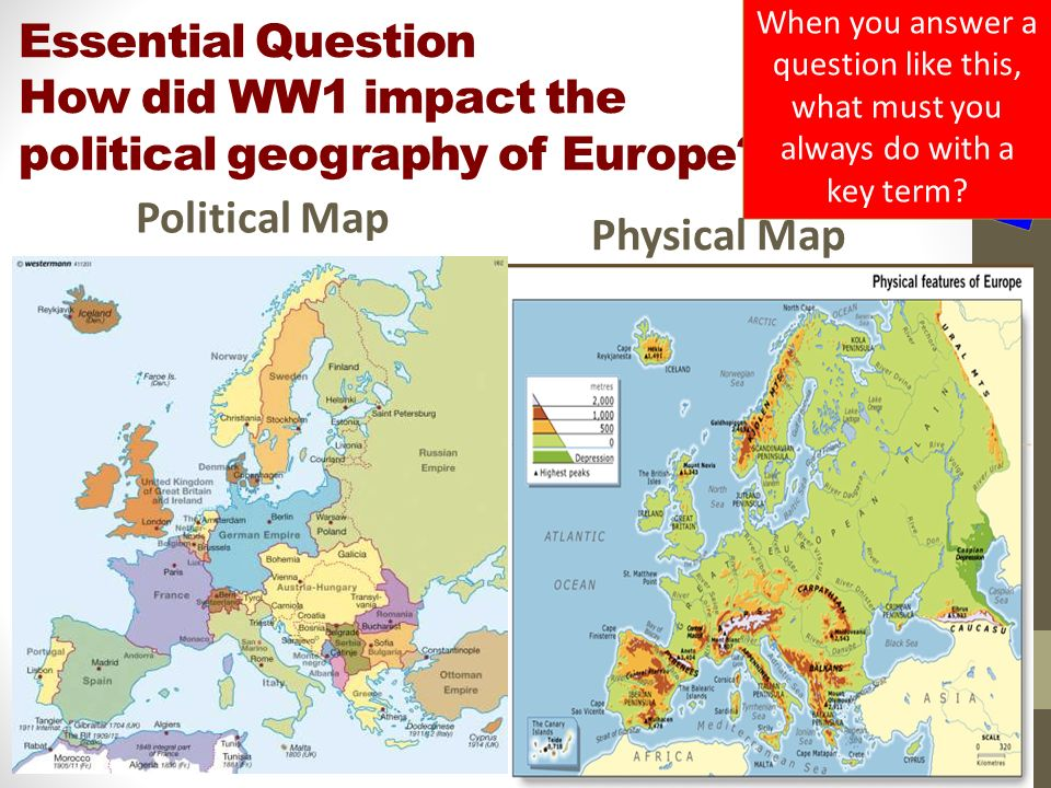 Lesson 1 ww1 geography essential question how did ww1 impact the essential question how did ww1 impact the political geography of europe publicscrutiny Choice Image