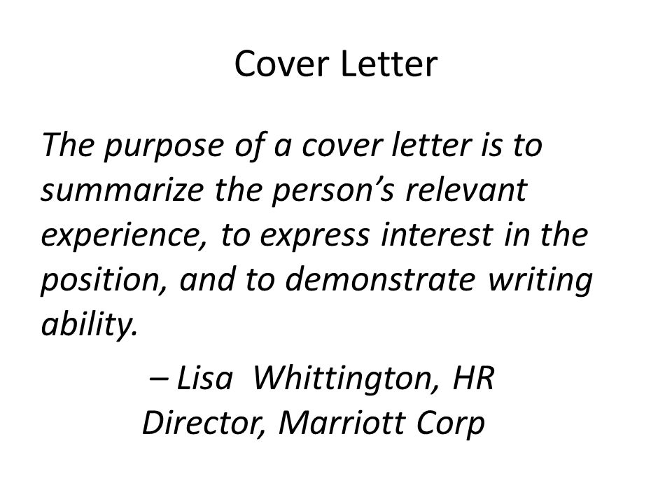 Cover Letter Magic Rachael Wendler, English 307. Cover Letter The