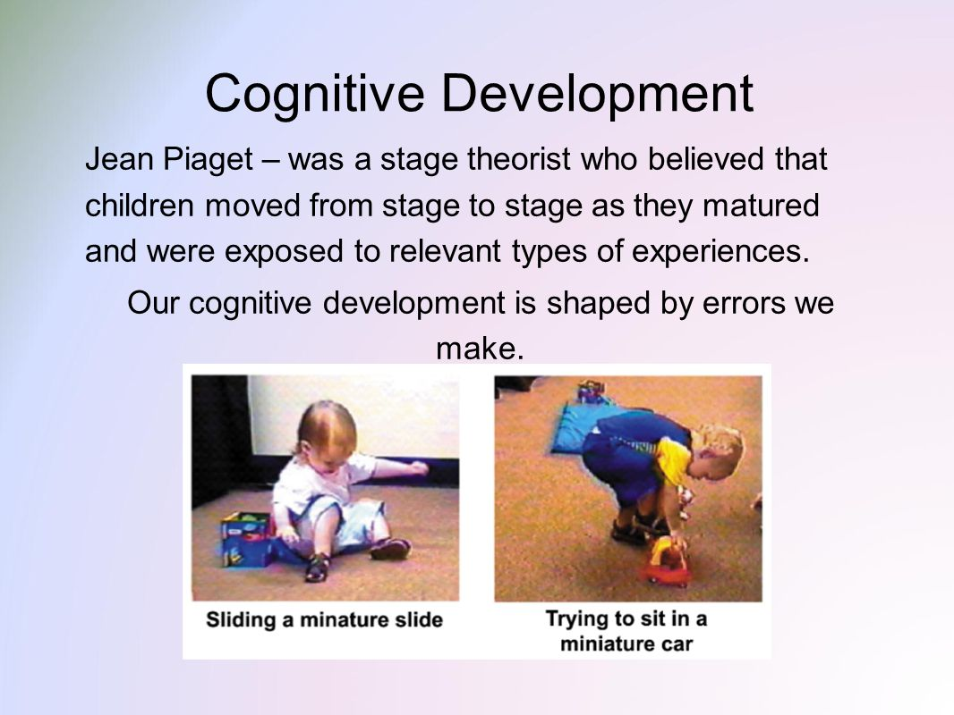 a paper on jean piagets model of child development Piaget's model of cognitive development jean piaget's model of intellectual development continues to have a comparing theories of child development (4th ed.