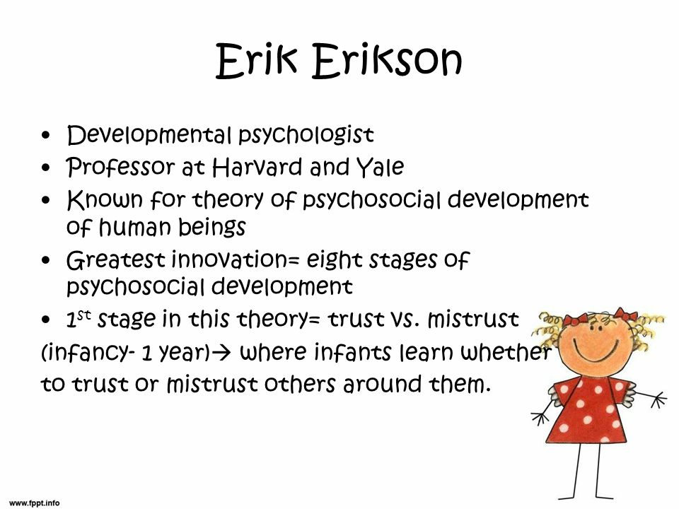 erikson's theory of psychosocial development applied