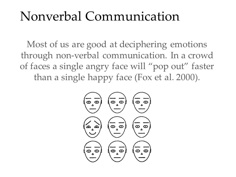 Principles of Nonverbal Communication Nonverbal communication has a distinct history and serves separate evolutionary functions from verbal communication