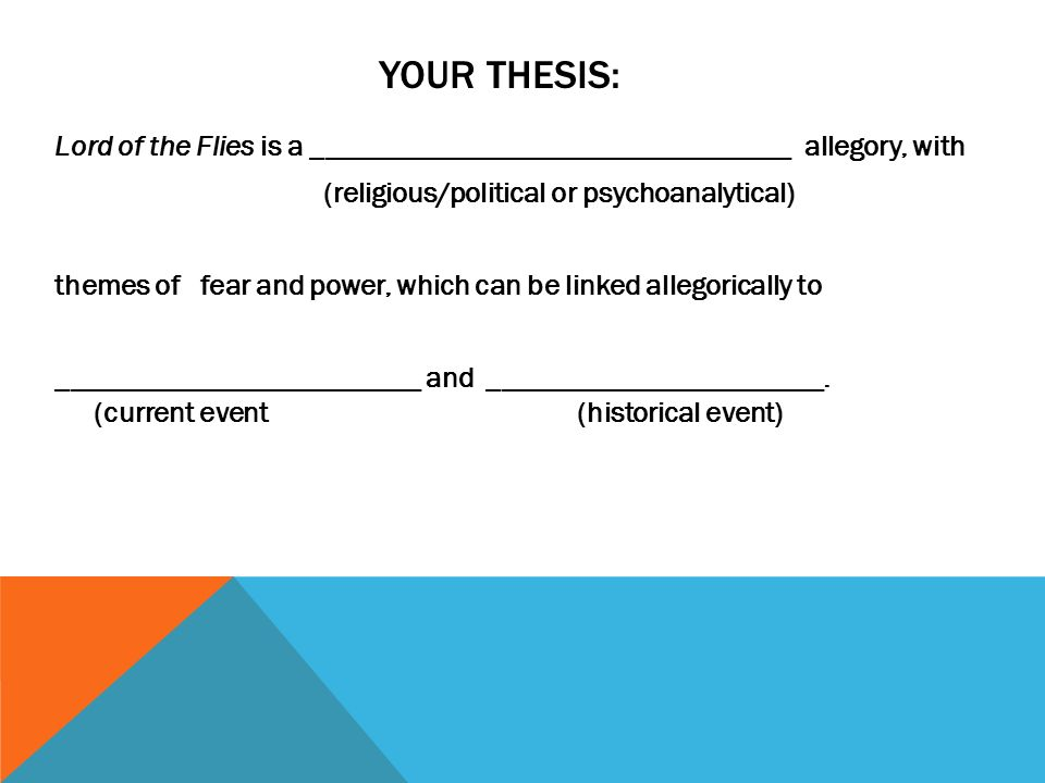 research paper issues found in lord of the flies ppt  your thesis lord of the flies is a