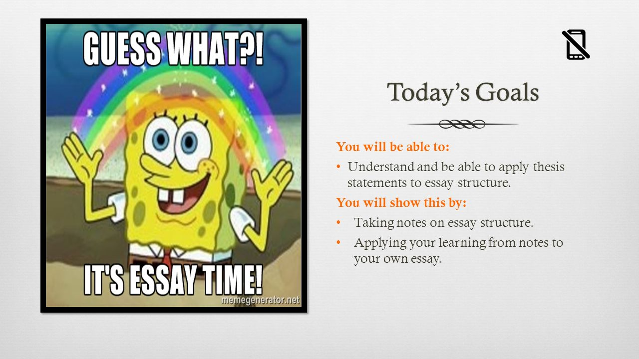 Dialectical essay