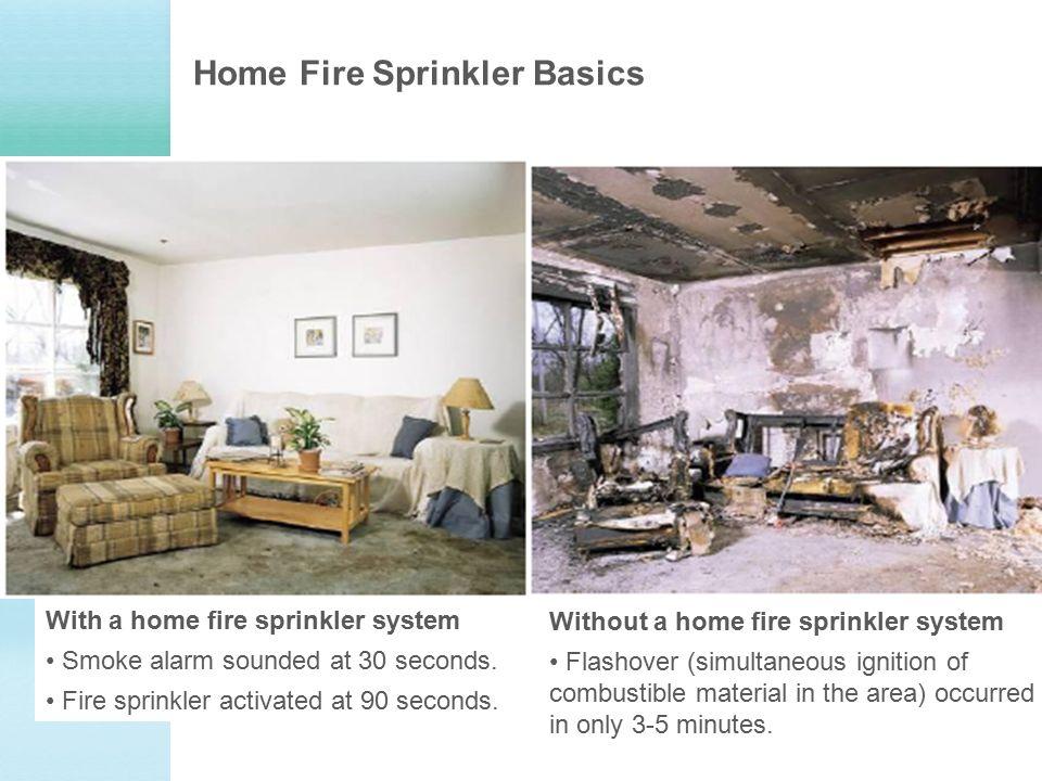 7 Home Fire Sprinkler Basics With A Home Fire Sprinkler System ...