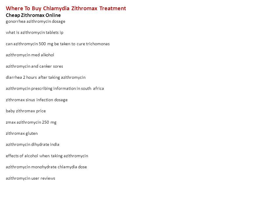Zithromax 500 mg gonorrhea pics