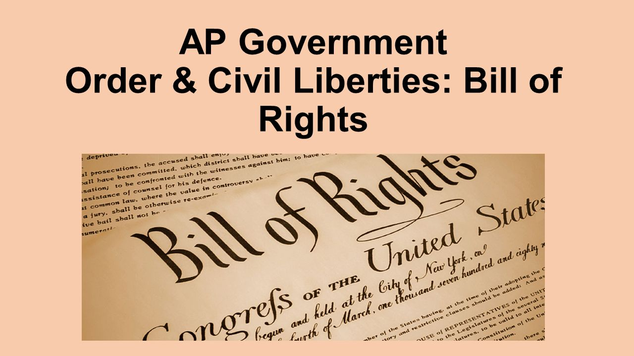 can the government limit civil liberties Civil liberties, like those found in our bill of rights, limit the powers the government can hold (mostly to keep leaders from becoming oppressive or tyrannical).