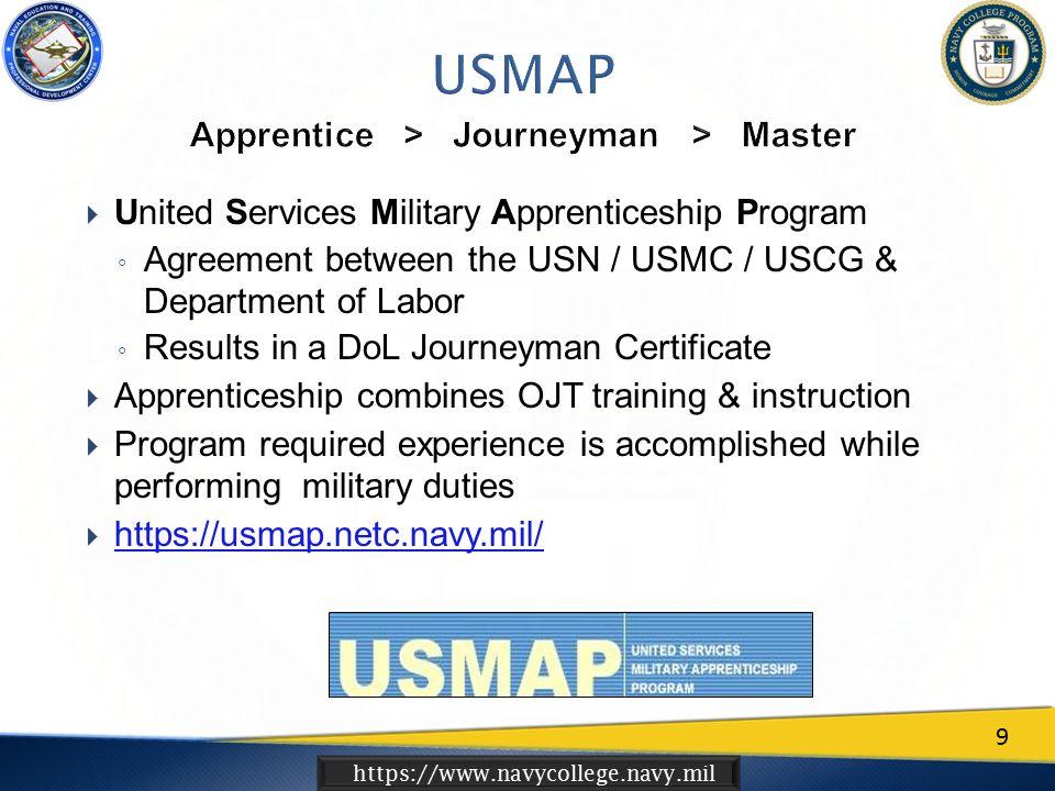 Httpswwwnavycollegenavymil Navy Voluntary Education VOLED - Us map apprenticeship program