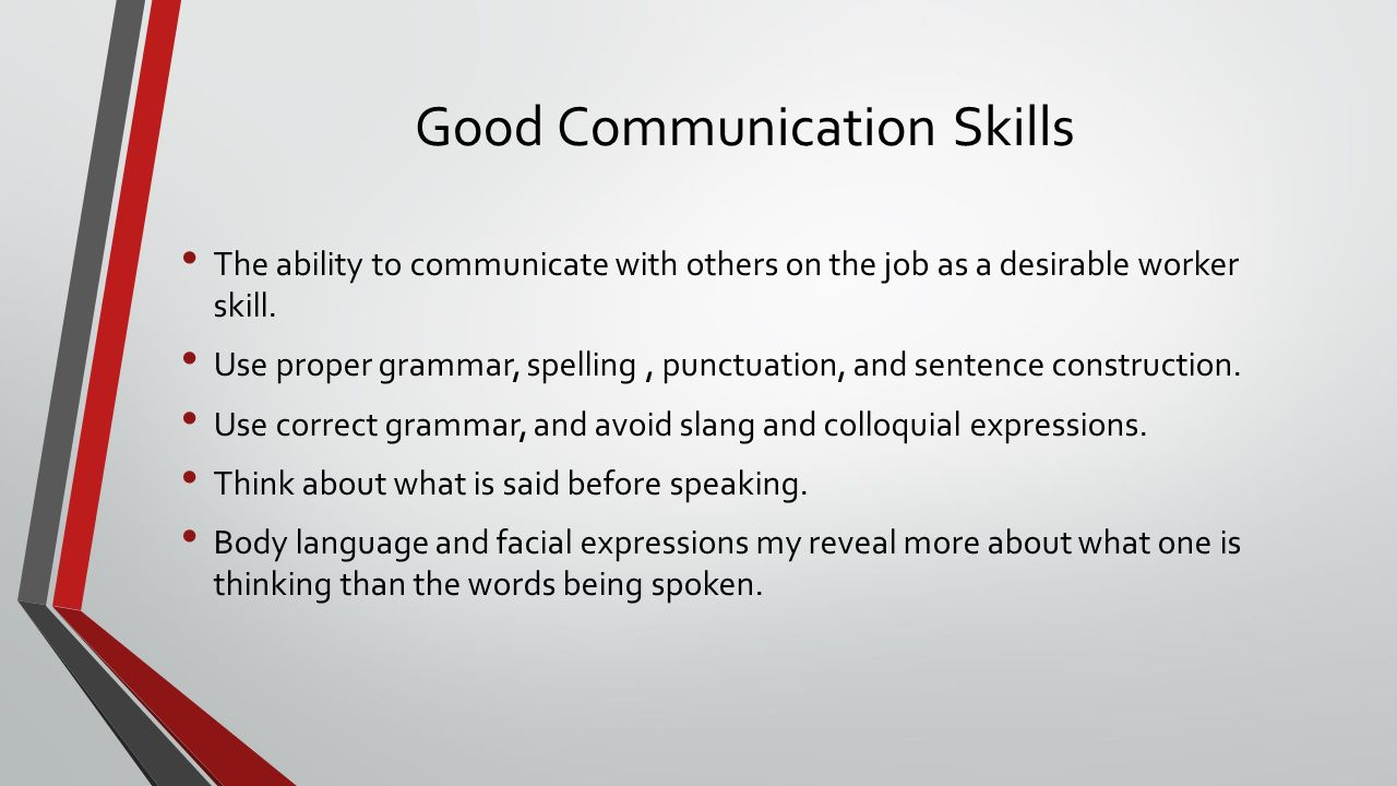 employer expectations employability employ ability literally 11 good communication skills