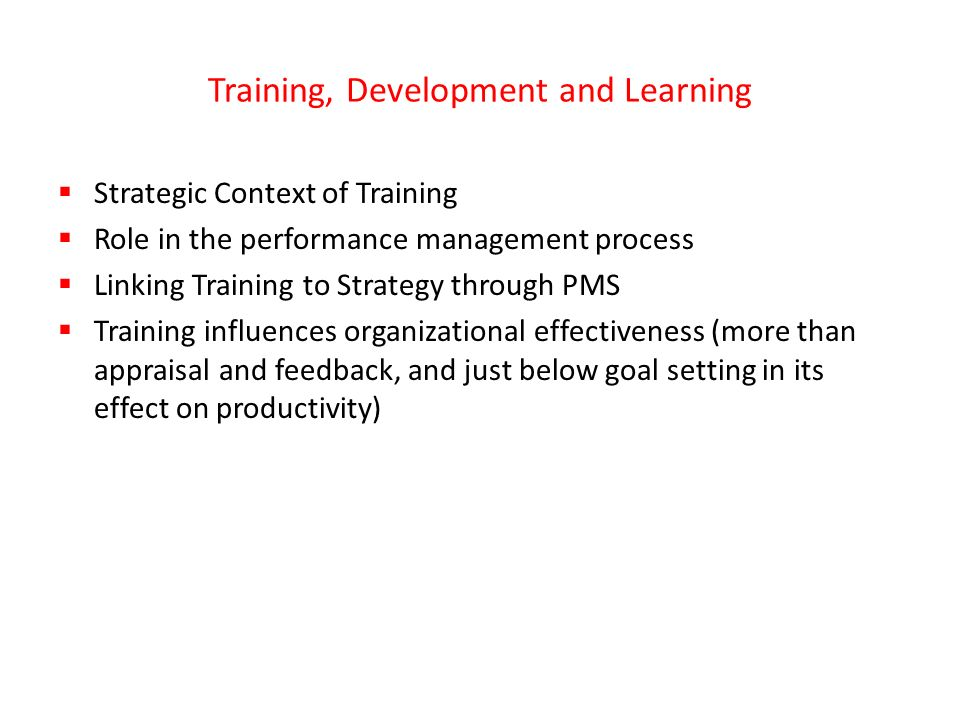 role of training and development in Journal of public administration and governance issn 2161-7104 2011, vol 1, no 2 42 wwwmacrothinkorg/jpag training and development strategy and its role in.