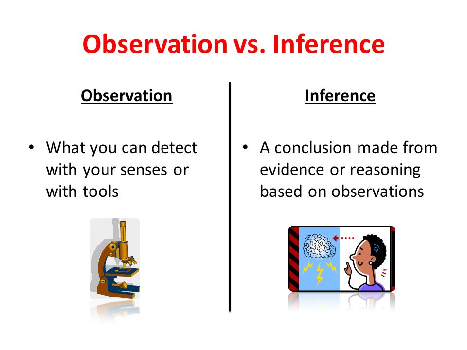 definition of the word observation