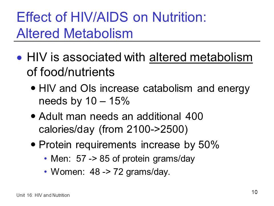 women needs men nutritional adult for