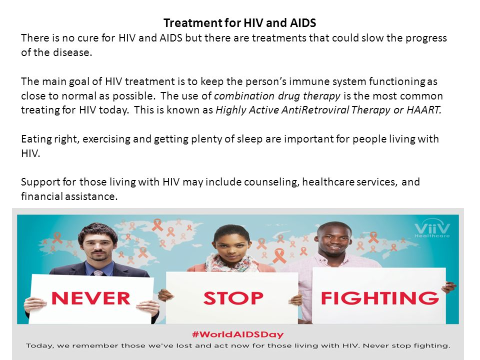 Is there a treatment for hiv
