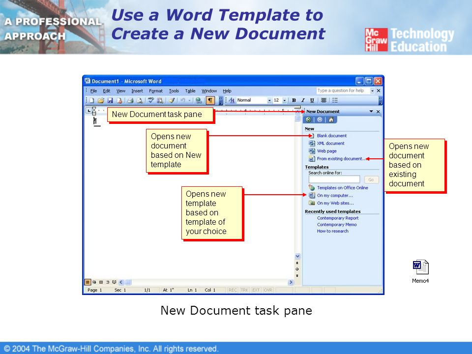lesson 16-templates and wizards. overview use word templates, Presentation templates