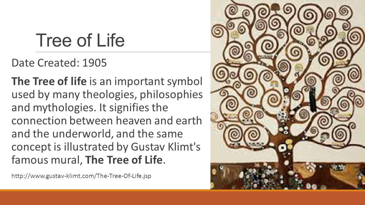 Gustav klimt tree of life tree of life date created 1905 the tree of life date created 1905 the tree of life is an important symbol used biocorpaavc