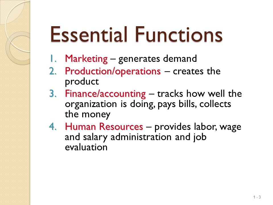 1 - 1 Operations Management What Is Operations Management ...