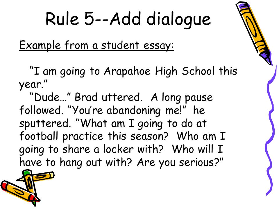 dialogue essays spm