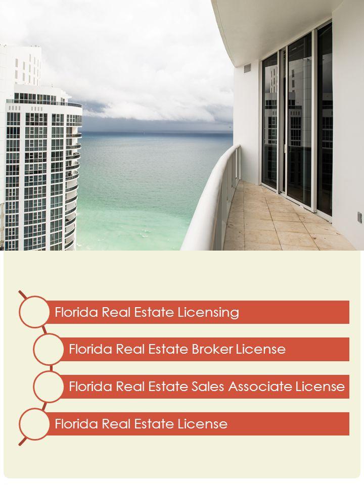 2 Florida Real Estate Licensing Broker License Sales Associate