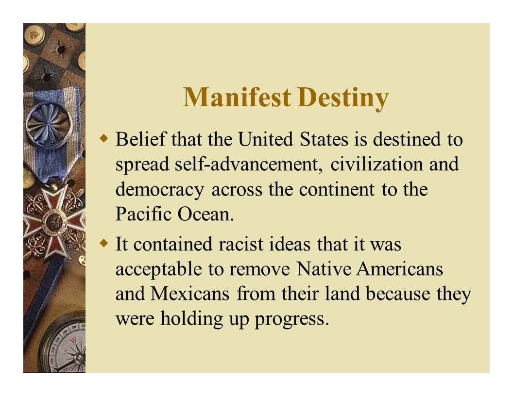 how did manifest destiny manifest itself If you manifest a particular quality, feeling, or illness, or if it manifests itself, it becomes visible or obvious.