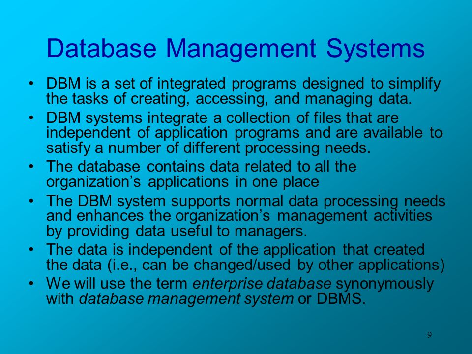 dbm 460 enterprise database management systems Dbm 460 week 3 individual assignment inadequately incorporated in database management systems and you have made to your database pos 410 week.