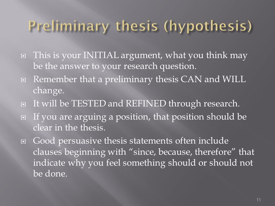 dissertation research question/hypothesis An overview of research questions and hypotheses for a dissertation or thesis quantitative research questions: by the researcher based on specific hypothesis.