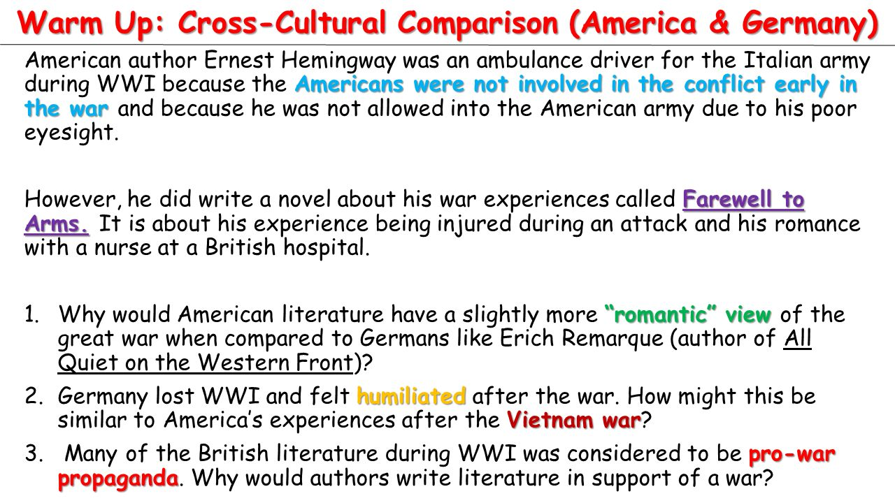 american aviation during wwi essay example Beyond rosie the riveter: women's contributions during world war ii by sean irwin.