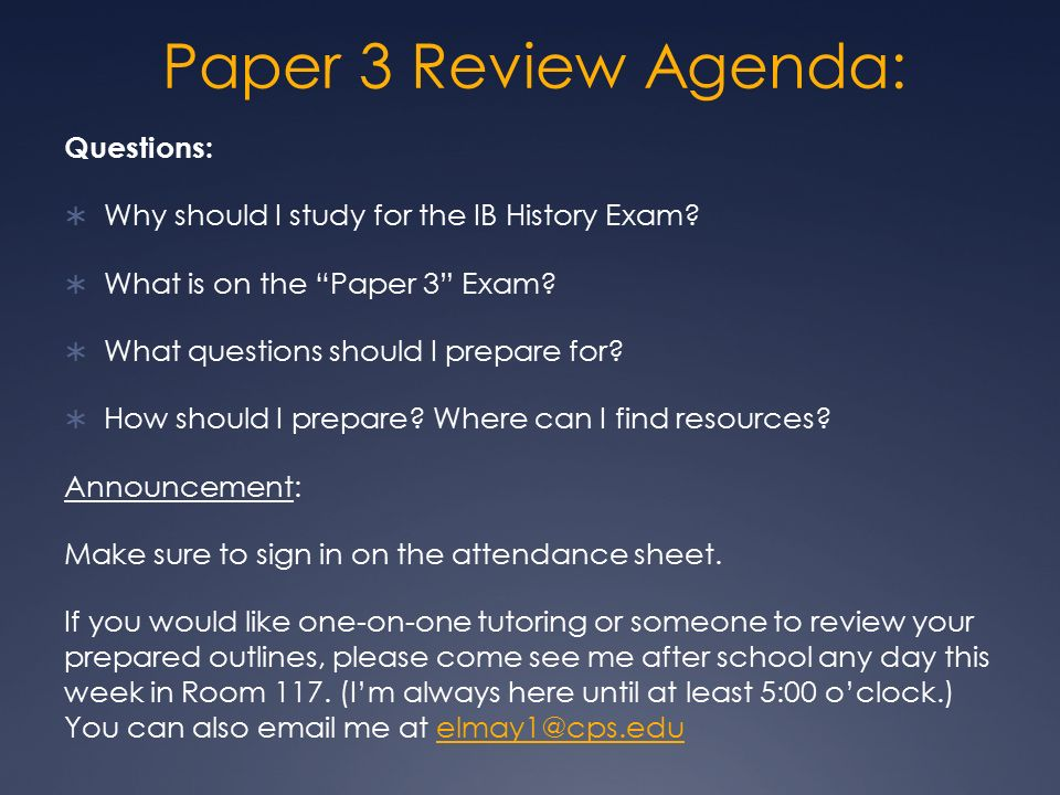 ib 20 hota final exam study So i've put together some study materials for final exams in both history and remember that if you're taking the ib history exam at the end of this.