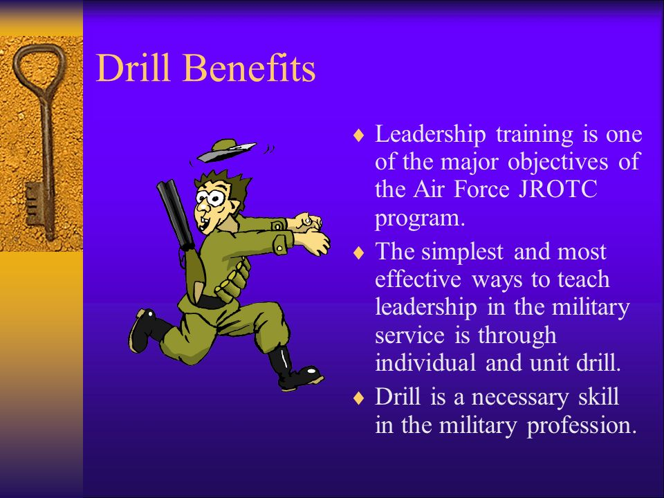 Introduction to Drill Samples of Behavior  Define Drill Terms  Define all basic military drill terms  Identify the types of commands used during ba