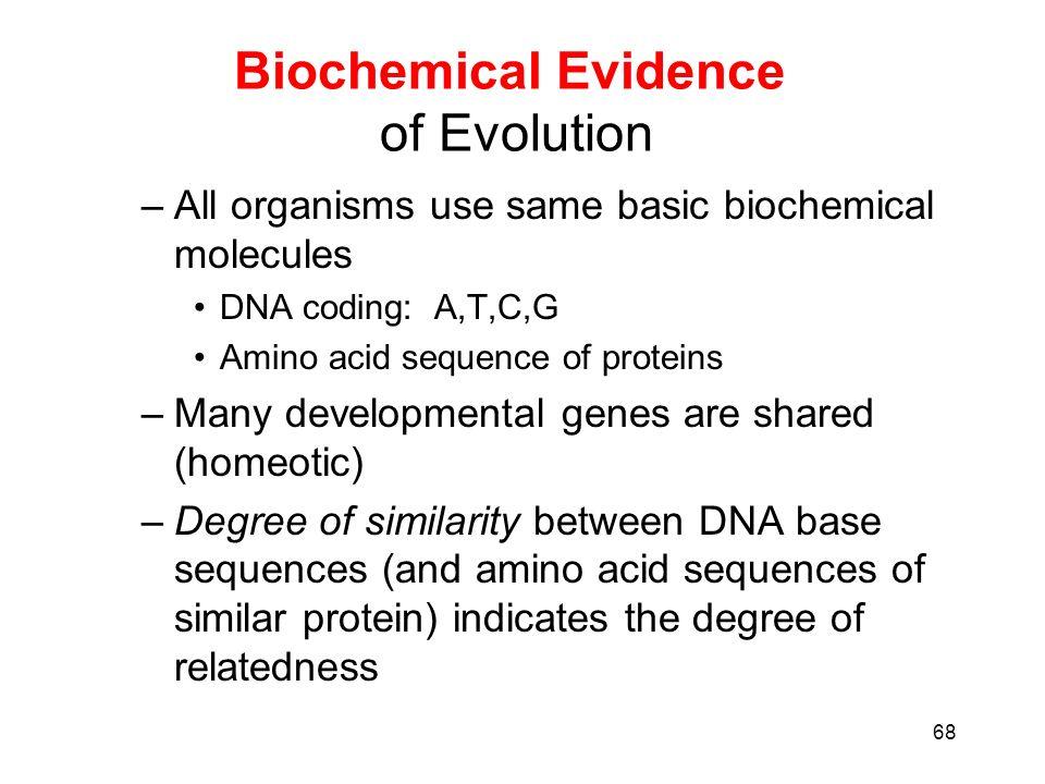 Life Origins Evolution Classification Edited by L Bridge Nov – Biochemical Evidence for Evolution Worksheet