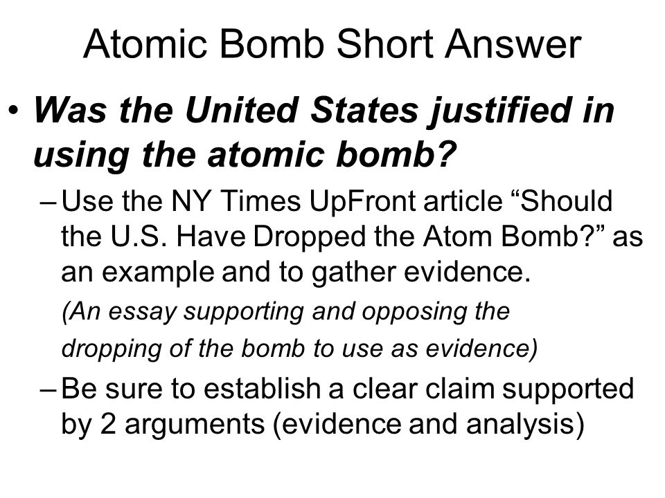 the bomb by lansing lamont essay The uranium bomb was a simple design and scientists were confident it would work without testing building a test site in the fall of 1944 soldiers started arriving at trinity site to prepare for the test.