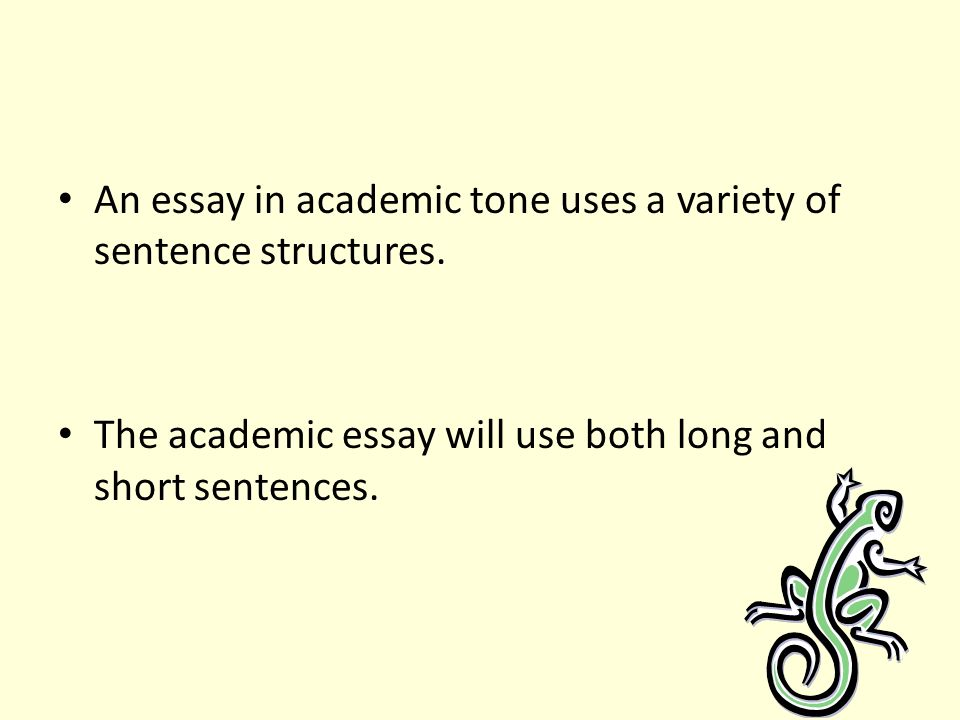 Better word choices essays
