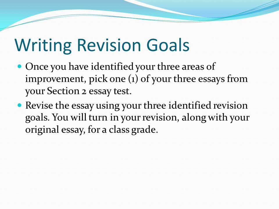 essay revision