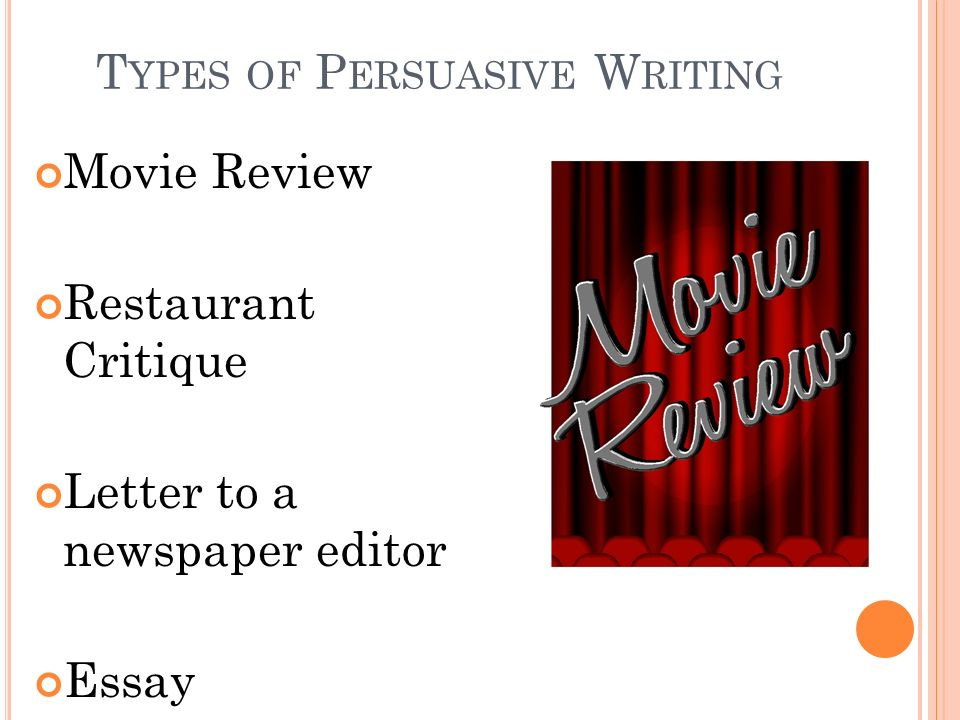 persuasive essay movie review Persuasive writing essay 1 film review  persuasive writing about film revised 1 man of steel movie review sample.