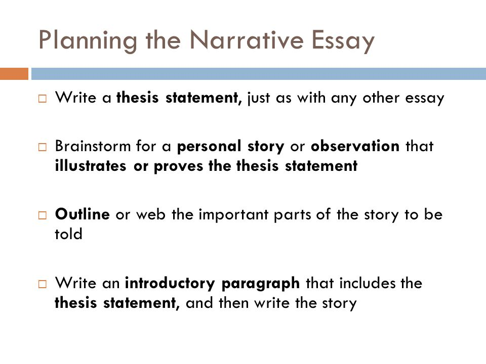 The Original Composition Intro The Original Composition  Part   Planning The Narrative Essay  Write A Thesis Statement