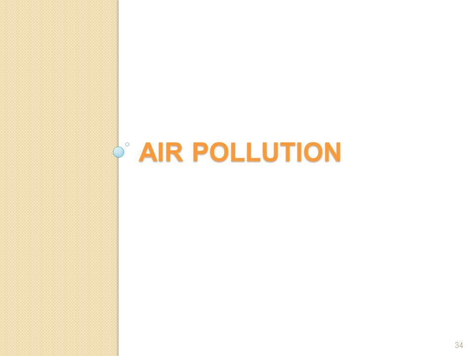 AIR POLLUTION 34