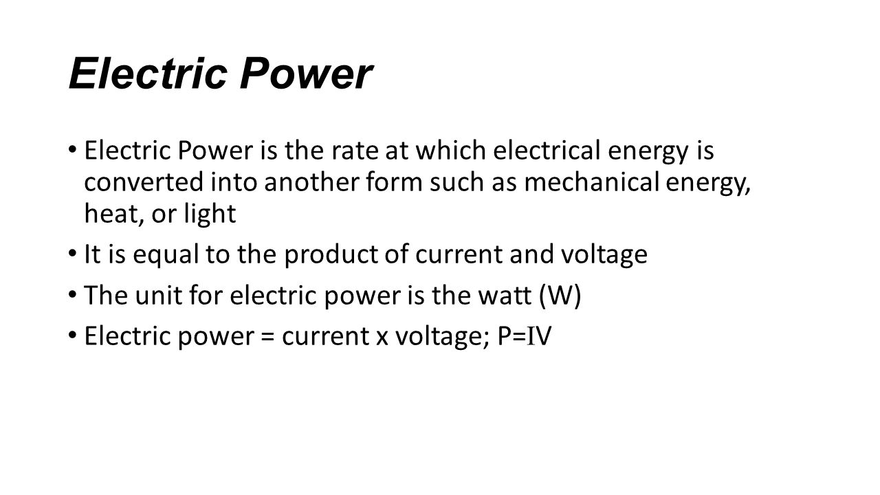 Electric Current Chapter 34.2, 34.4, 34.5, and Notes. - ppt download