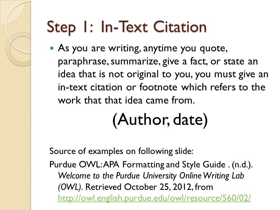 footnotes apa style
