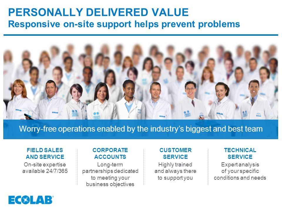 ECOLAB'S STONE CARE PROGRAM CREATE GREAT FIRST IMPRESSIONS. - ppt ...