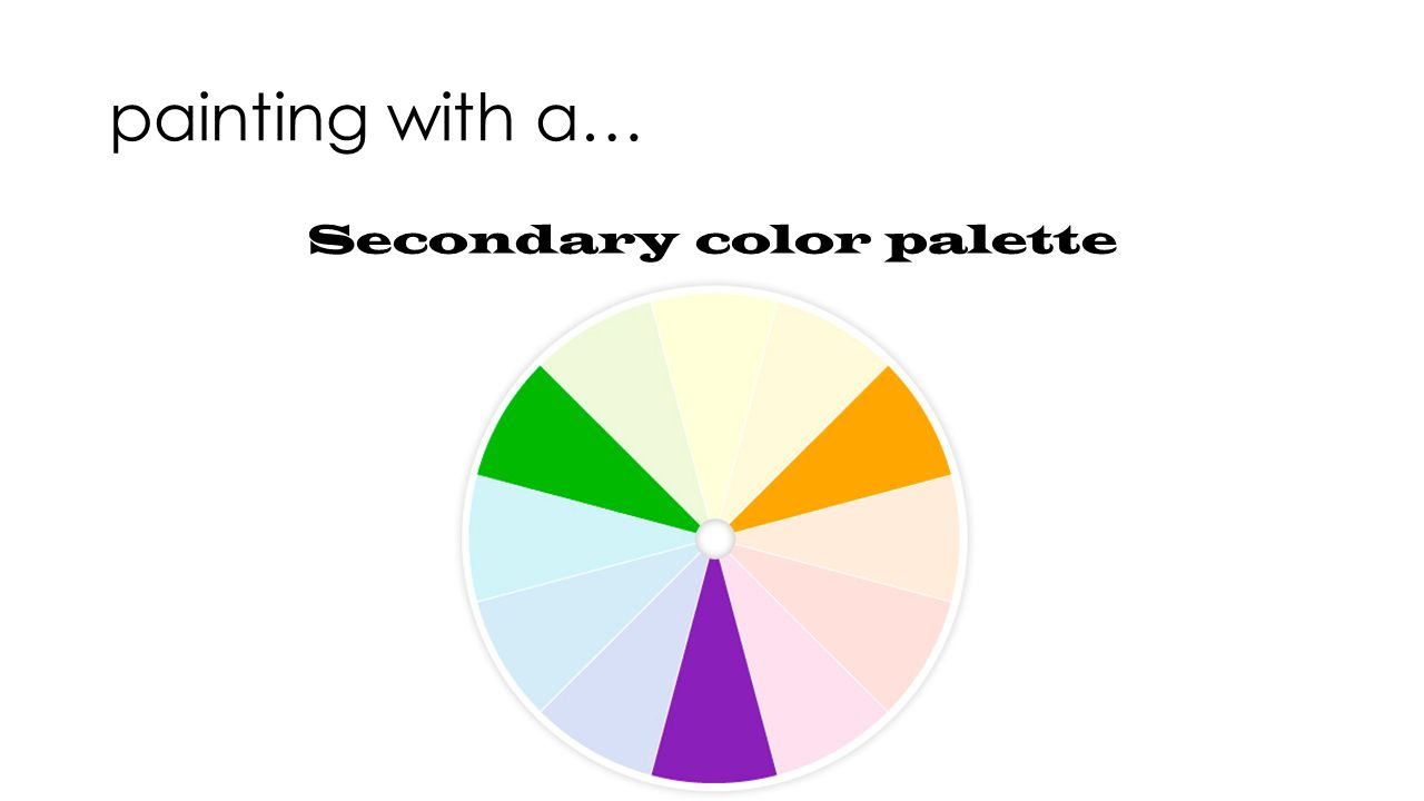 Painting With Different Color Schemes A Primary