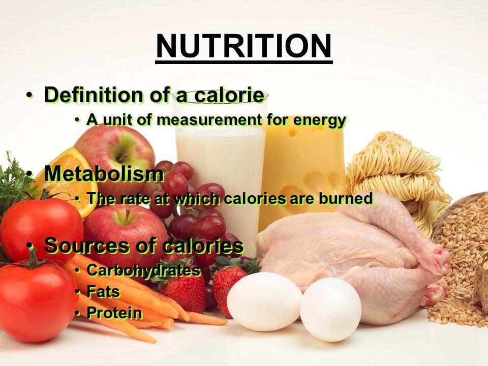 nutrition definition of a calorie a unit of measurement for energy, Cephalic Vein